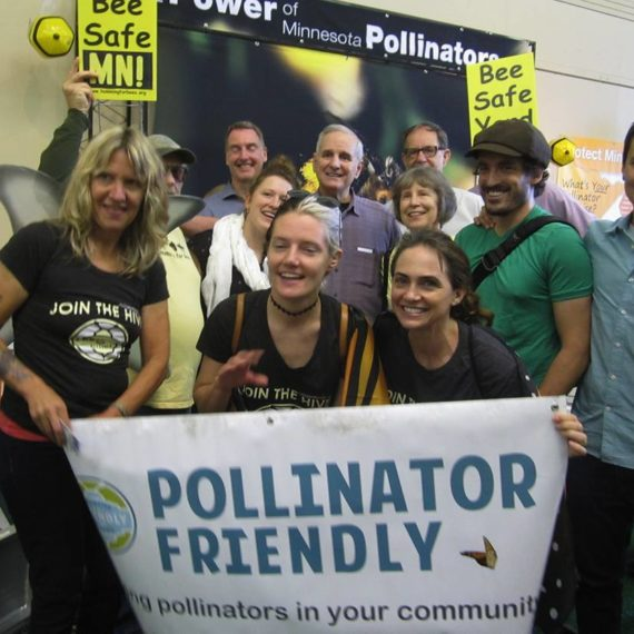 Protest for bees
