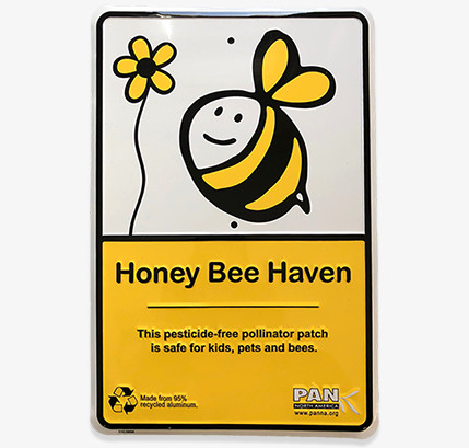 Honey Bee Haven Yard Sign
